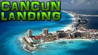 Landing in Cancun 4K - Thomson Dreamliner Boeing 787-8