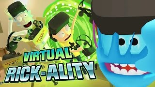 Rick and Morty: Virtual Rick-ality Gameplay