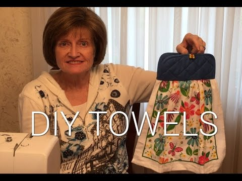 Diy Hanging Kitchen Towels You
