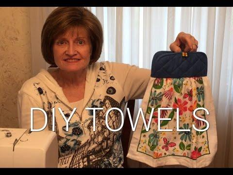 Kitchen Towel With Hanging Loop Kitchentowels