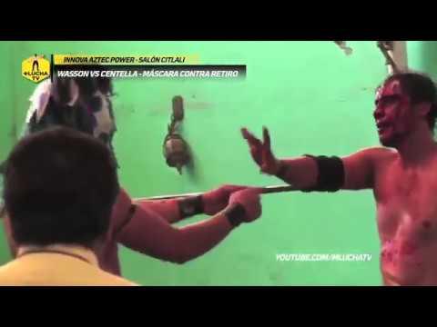 Wasson vs Centella, máscara vs carrera en Innova Aztec Power
