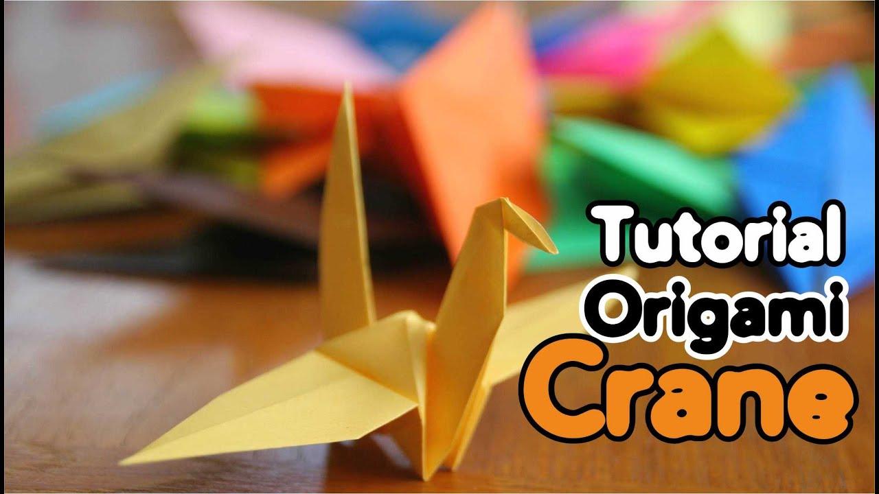 Origami Crane Instructions - Basic Tutorial - YouTube - photo#44