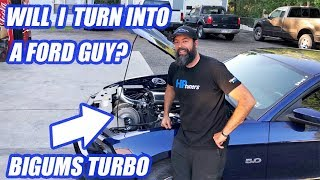 Jeremy Drives 1000HP Mustang and Things Get Sketchy!