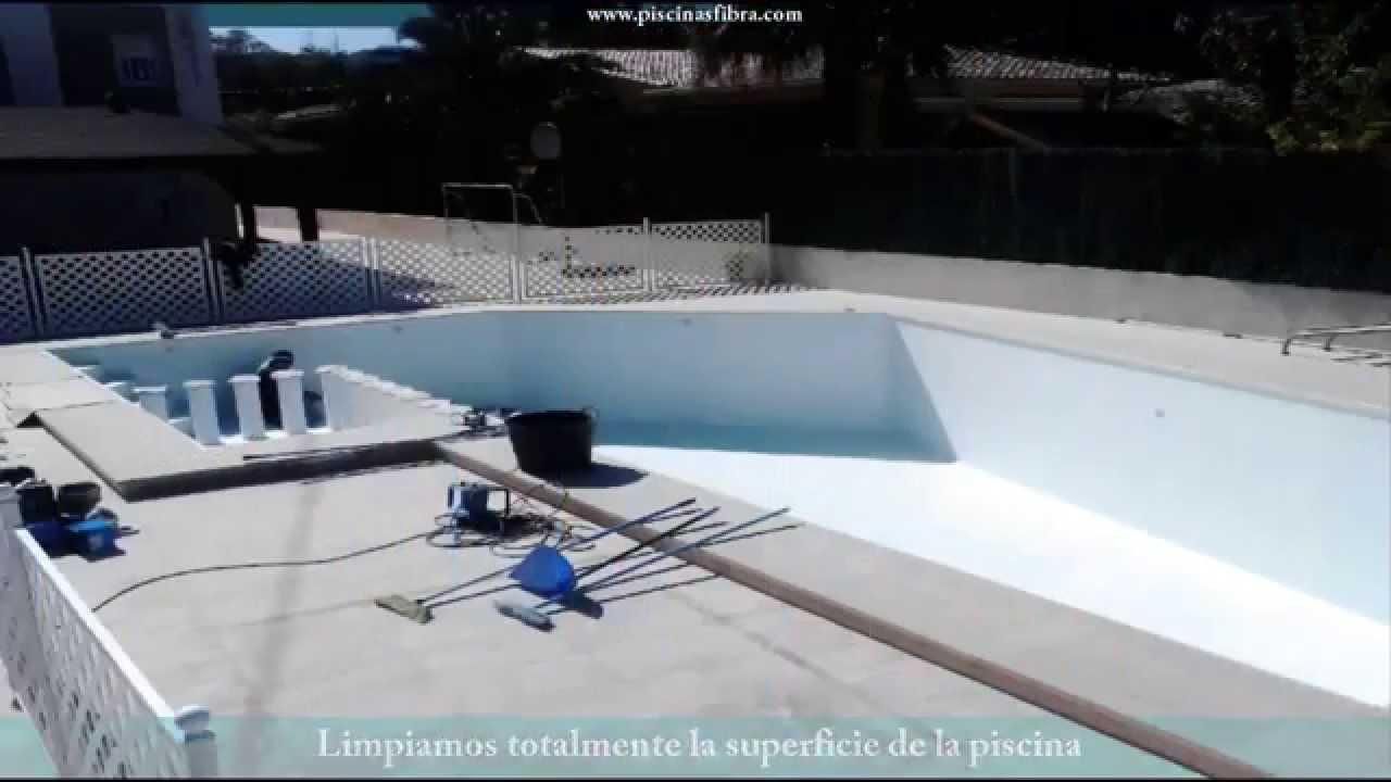 Barpool piscinas revestimiento piscina obra con fibra for Piscinas barpool
