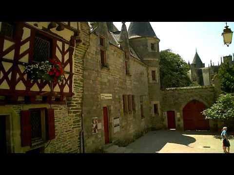 Josselin - Brittany, France.