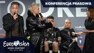 Question about Palestine disrupted Hatari's press conference (Eurovision 2019)