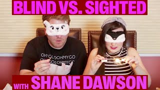 One of Molly Burke's most viewed videos: BLIND vs. SIGHTED: Who Has the Better Senses? (w/ Shane Dawson)