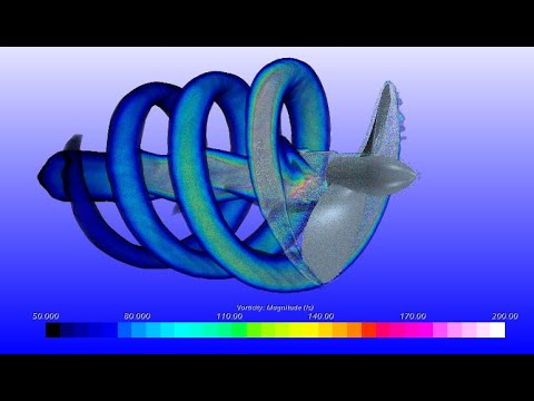 Design in OpenProp of a marine propeller and CFD Simulation in STAR CCM+