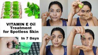 Vitamin E Oil Treatment For #Spotless Glowing #Skin विटामिन E कैप्सूल्स #Skincare #Beauty #VitaminE