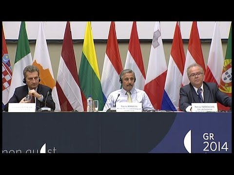 Informal Meeting of Ministers for Energy - Athens, 15-16.05.2014 - press conference