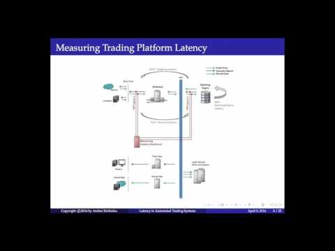 """Latency in Automated Trading Systems"" by Dr. Andrei Kirilenko"