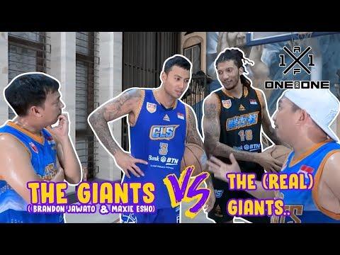 The Giants (Brandon Jawato & Maxie Esho) vs The (Real) Giant