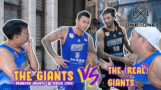 Download Video The Giants (Brandon Jawato & Maxie Esho) vs The (Real) Giant MP3 3GP MP4