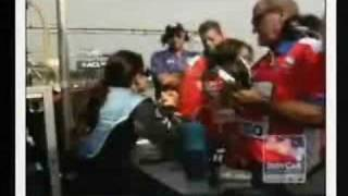 Danica Patrick Fighting on the Track..Again!