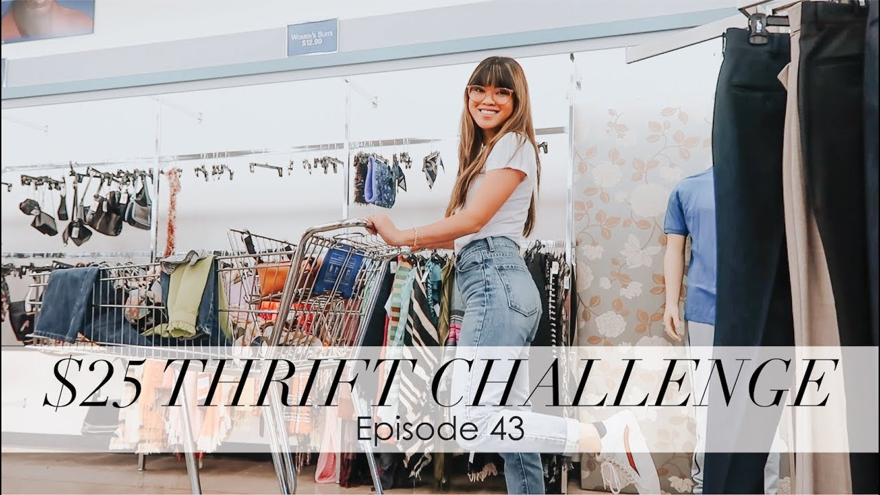 bychloewen $25 Thrift Challenge - Episode 43 // I THRIFTED DESIGNER 6