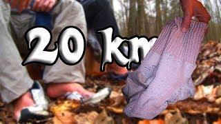 Bis die Socken qualmen 20km