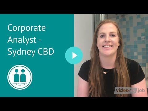 Corporate Analyst - Sydney CBD