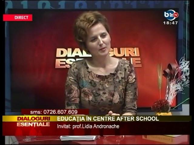 DIALOGURI ESENTIALE 26 OCTOMBRIE 2017 - invitat Lidia Andronache