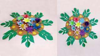 Adım | Jarine Kurnaz Oluşturma Kolay Adımda Yapmak için Nasıl DİY Kağıt Çiçek Duvar Dekorasyon Fikirleri |