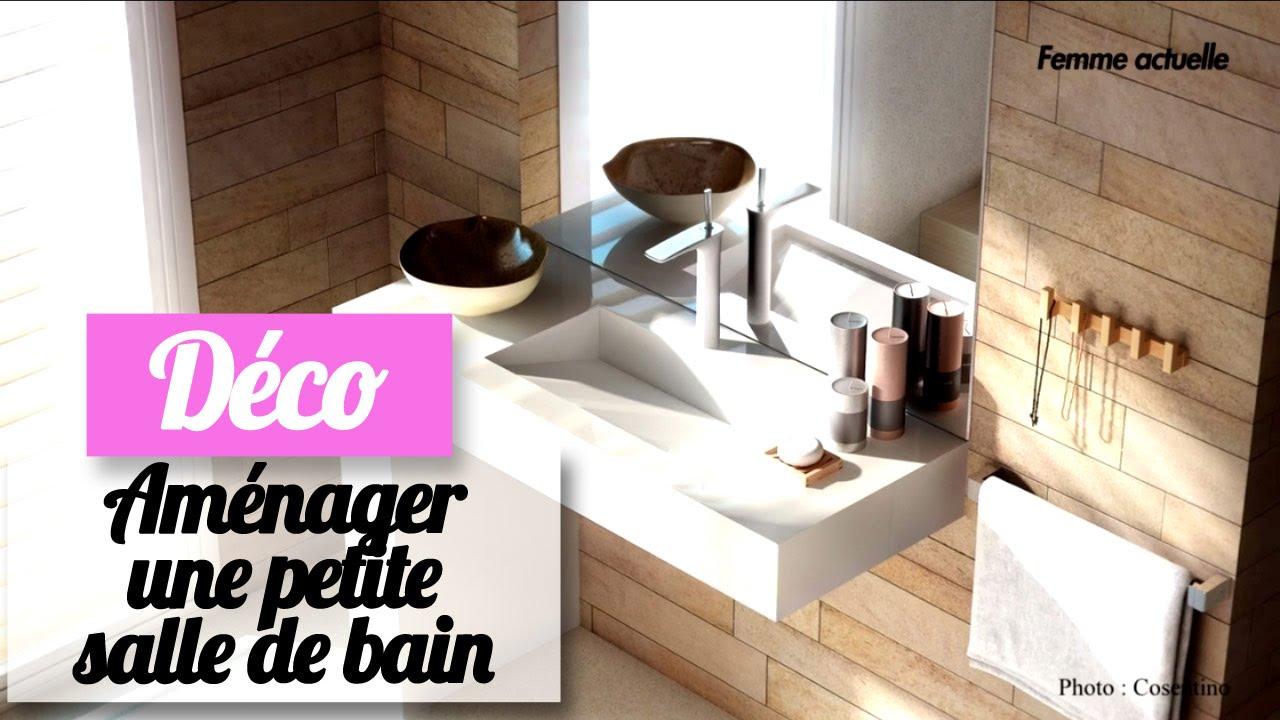 Aménager une petite salle de bain : les conseils d\'une pro