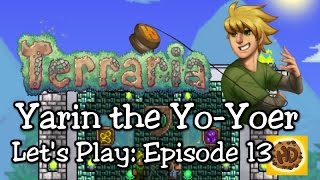 Terraria 1.3 Yoyo Let's Play Part 13: Gloves, Bags, & Frozen Weapons! (1.3 expert playthrough)