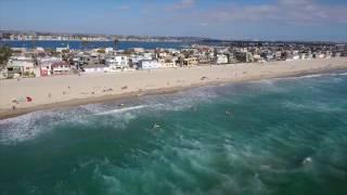 Summer Surfing in Mission Beach, CA (San Diego, CA)