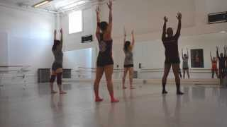 Flat Backs Series Variation with Hinges (Horton Technique) Choreography for Modern Dance Class