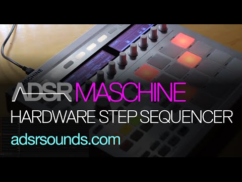 NI Maschine tutorial - Hardware Step Sequencer