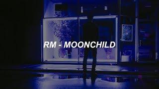RM 'moonchild' Easy Lyrics