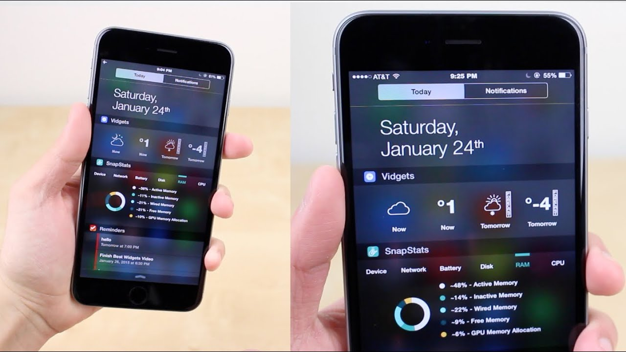 Top 5 Widgets for iOS Notification Center (2015)