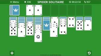 Spider Solitär Spielregeln