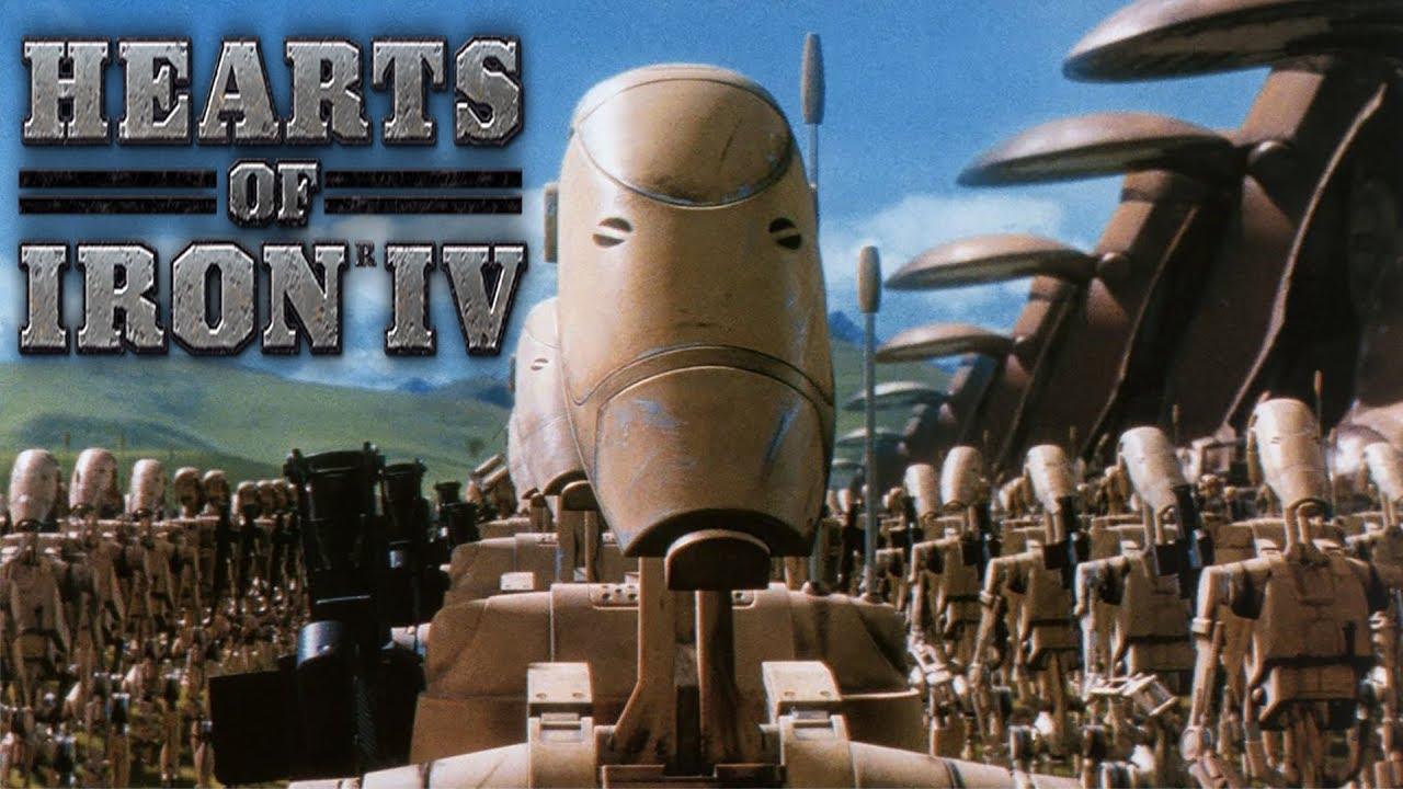 WORST MOD EVER?   CIS from Star Wars   Hearts of Iron IV Spotlight