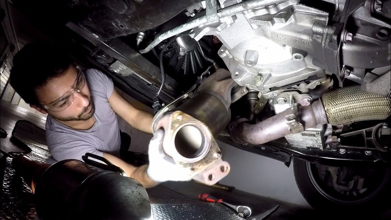 DIYHow To Downpipe Instalation Alfa Romeo 159 1750