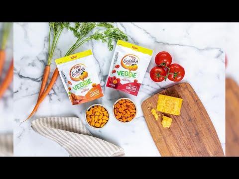 Goldfish Crackers Launching 2 New Veggie Flavors