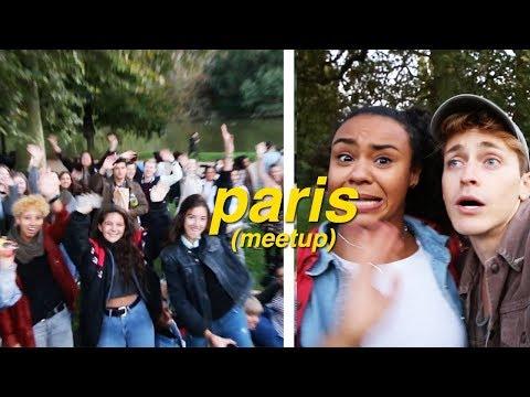 GETTING KICKED OUT OF OUR OWN MEETUP IN PARIS 😒