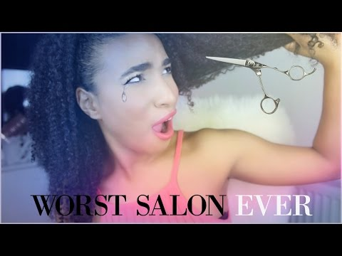 My WORST ever hair Salon experience │Story time │Curly Proverbz