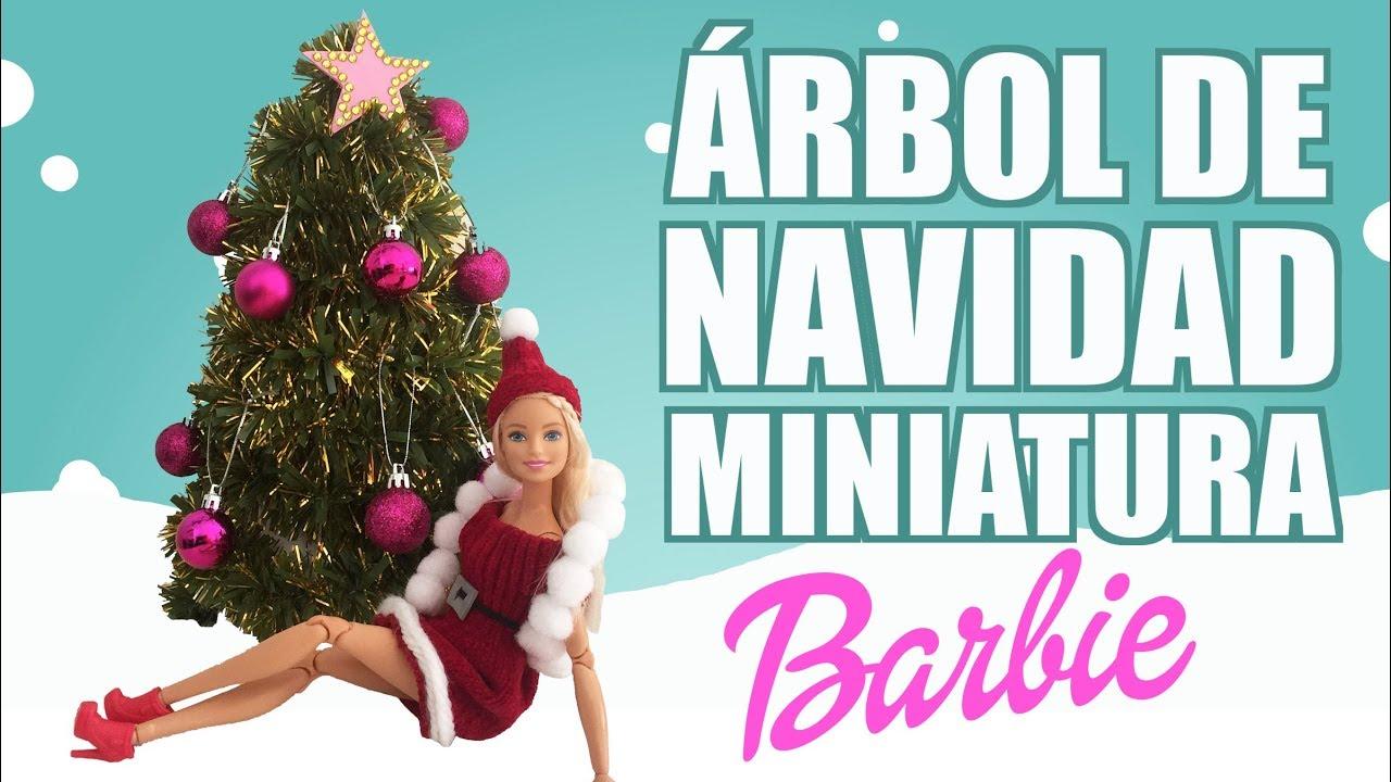 Como hacer un arbol de navidad para barbie