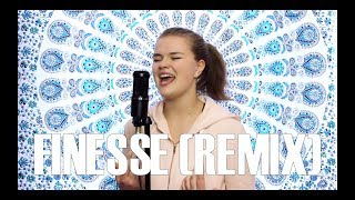 Bruno Mars - Finesse (Remix) [Feat. Cardi B] (Cover by Serena Rutledge)