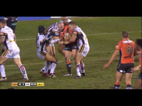 (HD) Super League 2017 | Castleford v Leeds | Round 3 | Match Highlights | Rugby League