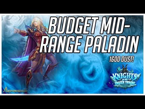 Hearthstone Budget Decks 2017 Midrange Paladin. Knights Of The Frozen Throne (KFT). Gameplay Guide
