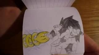 Dragon Ball Z Flipbook-Special Beam Cannon