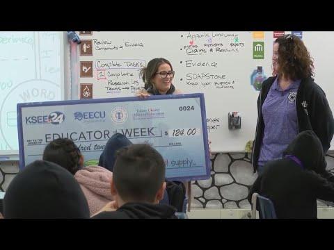Educator of the Week: Ms. Aceves from Yosemite Middle School