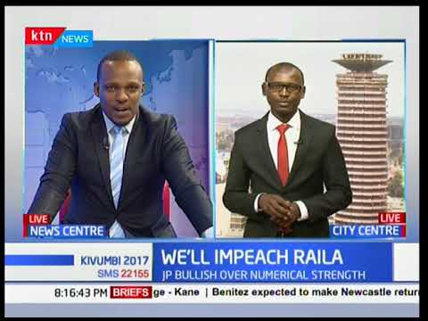 President Uhuru Kenyatta issues impeachment threats if Raila Odinga defeats him come October 17th