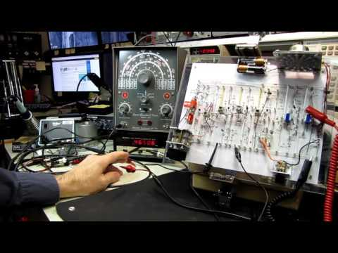 10 Buck Test Bench - 7 Transistor Radio Video #2 Alignment