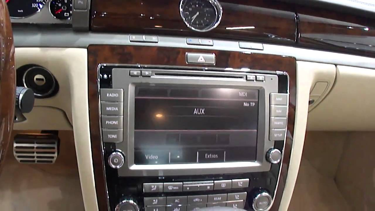 Volkswagen Phaeton W12 2011 Review Youtube