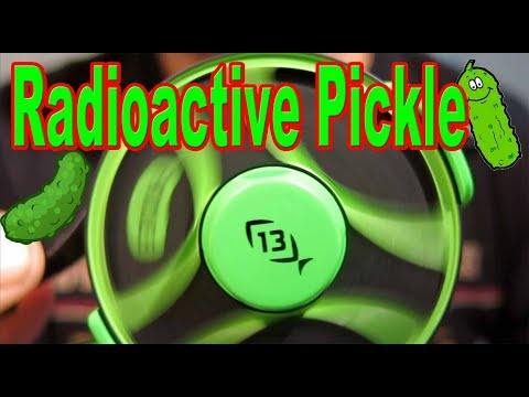 13 Fishing Radioactive Pickle Ice Combo Initial Set Up