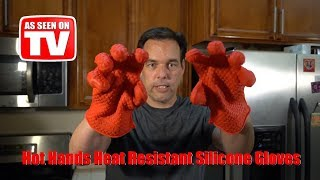 Hot Hands Heat Resistant Silicone Gloves