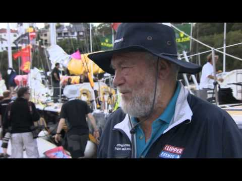 Interview with Sir Robin Knox-Johnston ahead of Rolex Sydney Hobart Race