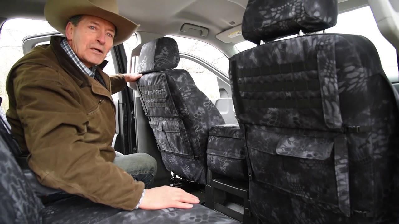 2014 Chevy Silverado Seat Covers Kryptek Typhon Camo Youtube