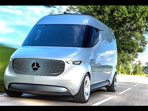 mercedes vision van electric autonomous drone delivery promo electric mercedes vito 2017. Black Bedroom Furniture Sets. Home Design Ideas